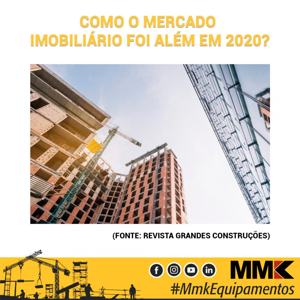 Como o mercado imobiliário foi além em 2020?