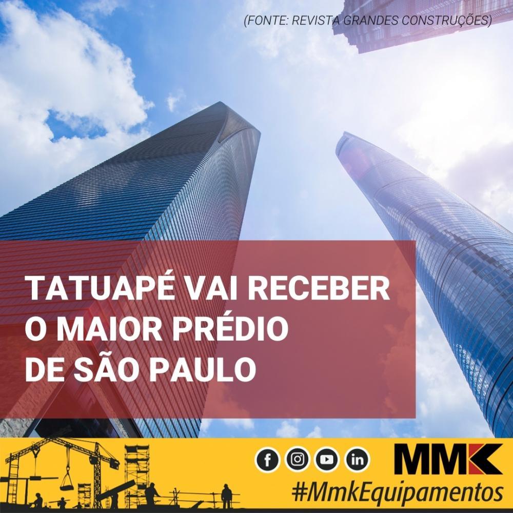 Tatuapé vai receber o maior prédio de São Paulo