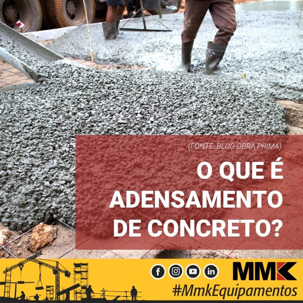 O que é adensamento de concreto?