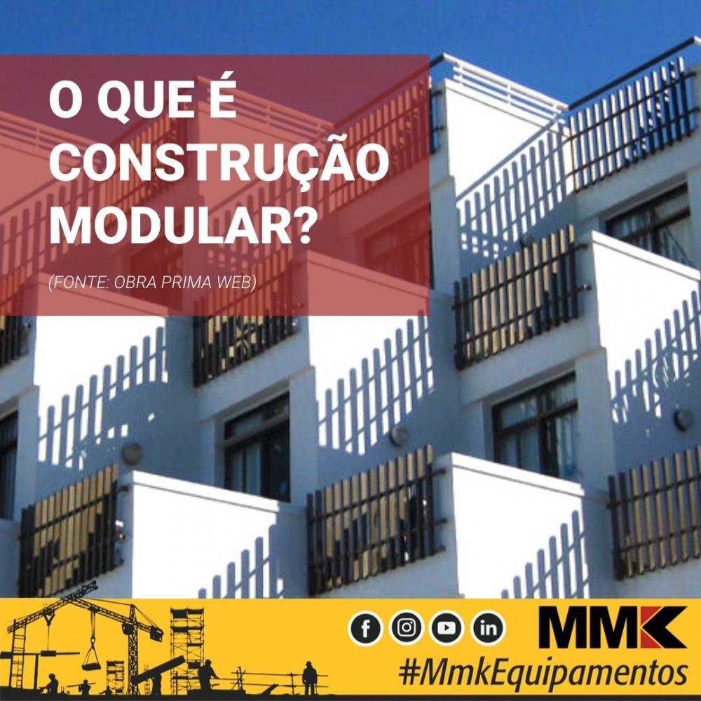 O que é construção modular?